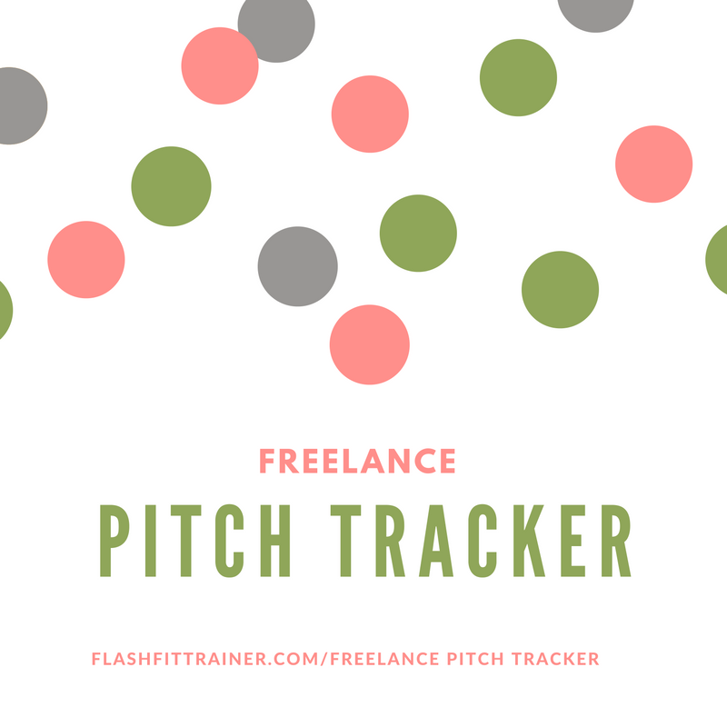 Freelance Pitch Tracker