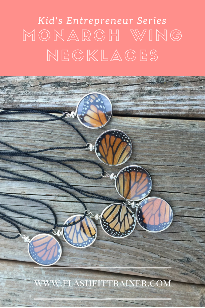 Monarch Wing Necklace DIY