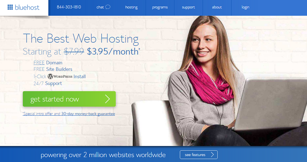 Bluehost for freelance writers