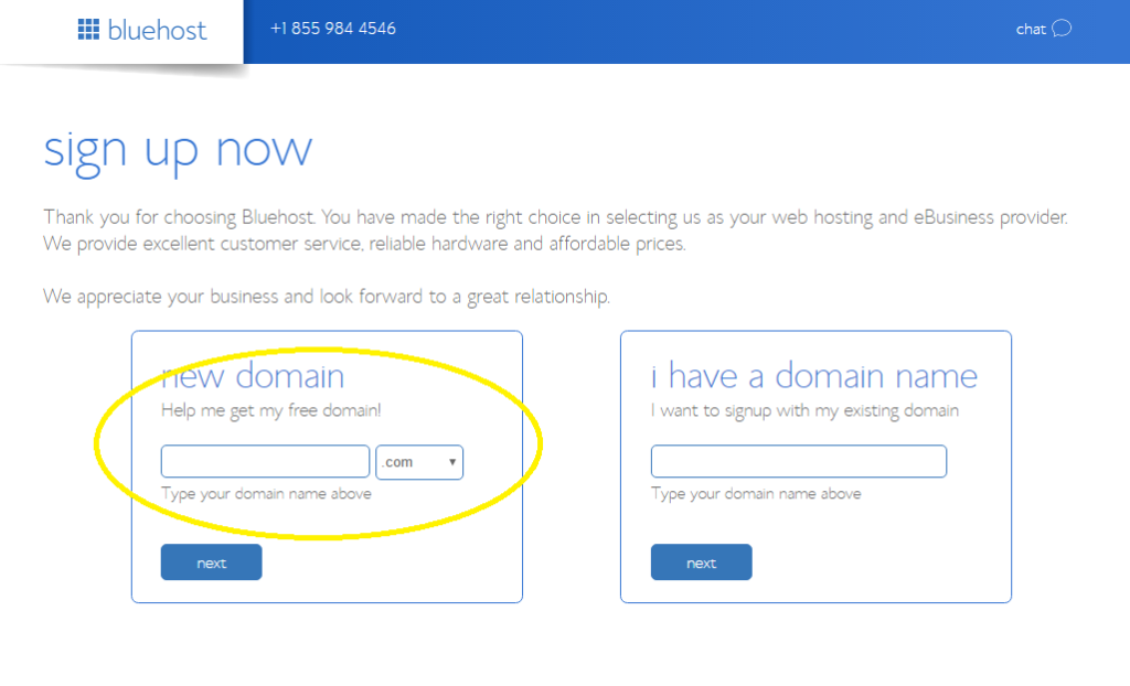 How to create a website with Bluehost