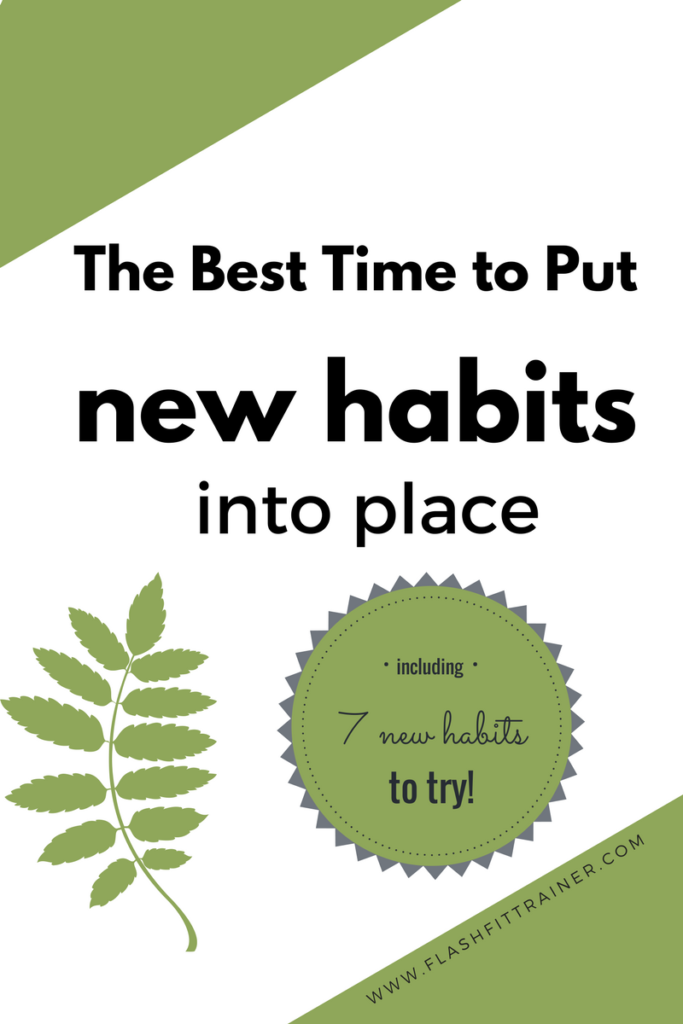 make new habits stick