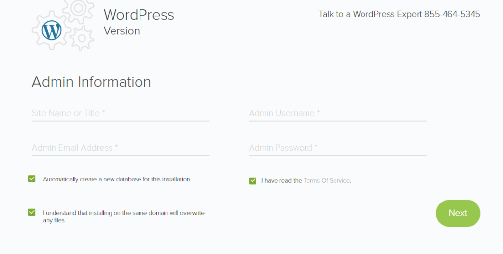 install wordpress on freelance writer website