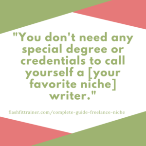 credentials you need to be a freelance writer