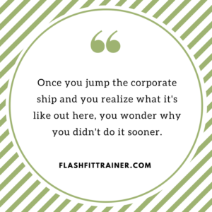 leave corporate to freelance quote